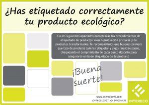 Guía Etiquetado Producto Ecológico 2017 Intereco