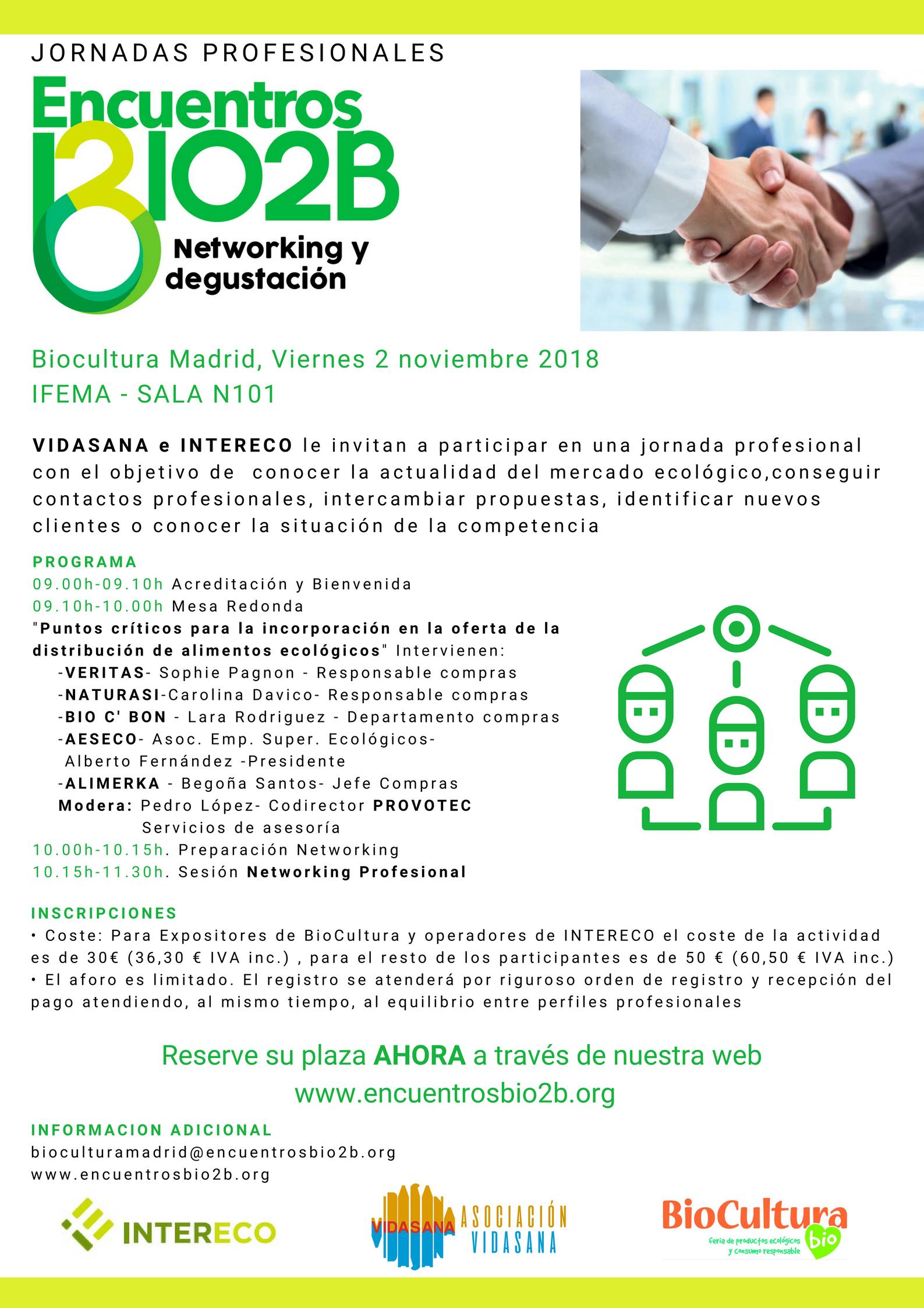 BioCultura Valencia 2019, cita con la cultura ecológica del 2 al 4 de marzo